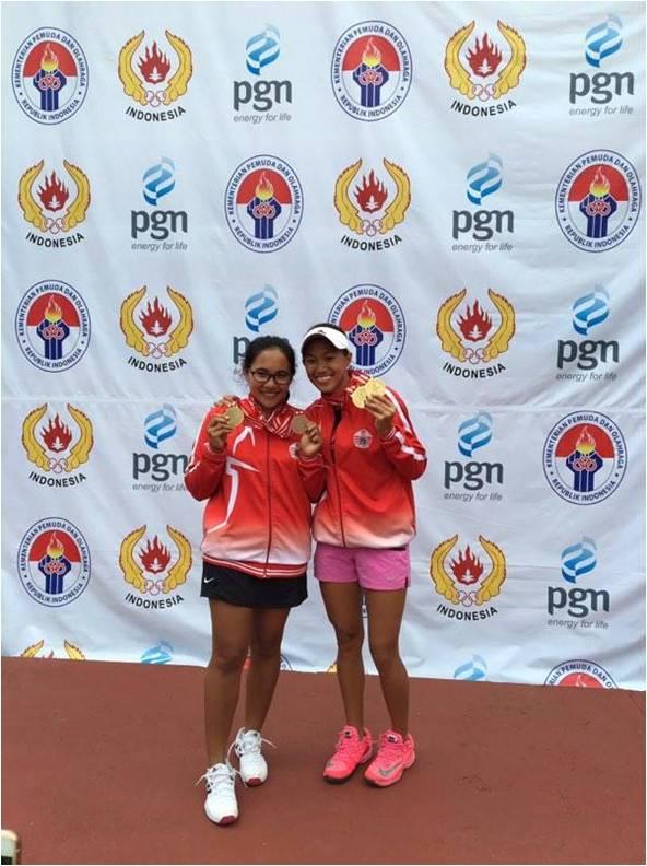 Michelle Julia dan Dwi Rahayu Meraih Juara Umum