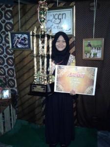 Nindia Destiani Azka Juara I Lomba Karya Tulis Ilmiah, Active 2016