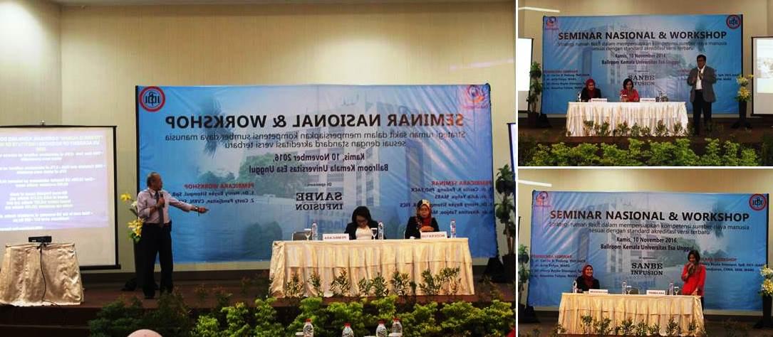 Para Pembicara di Acara Seminar dan Workshop