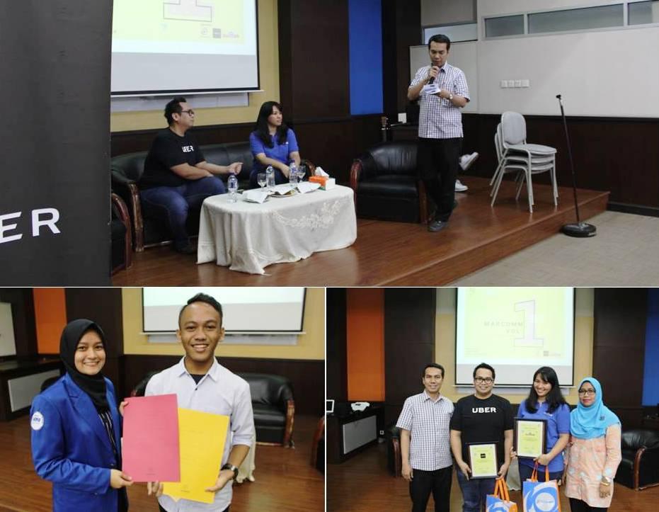 Saat Seminar dan Pengumuman Pemenang Design Poster & Logo Competition