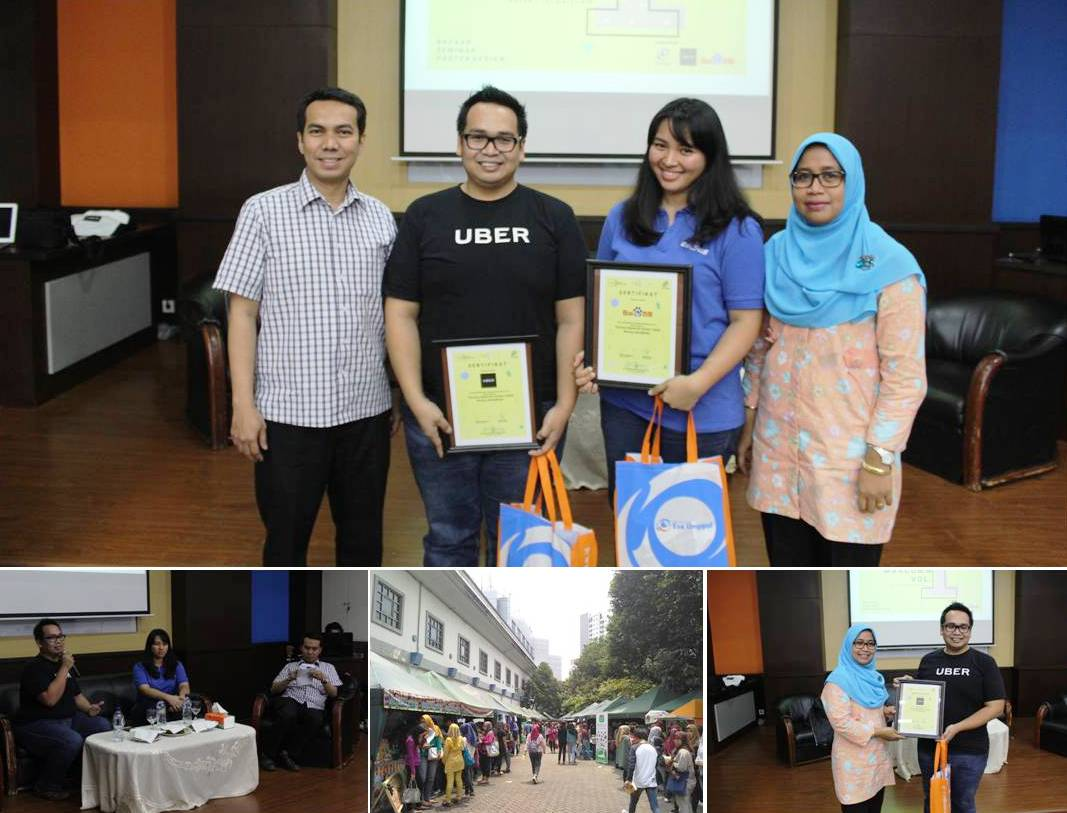 """Serunya Ngobrolin Konten Digital Bareng UBER & BAIDU"" and Poster Design Competition"