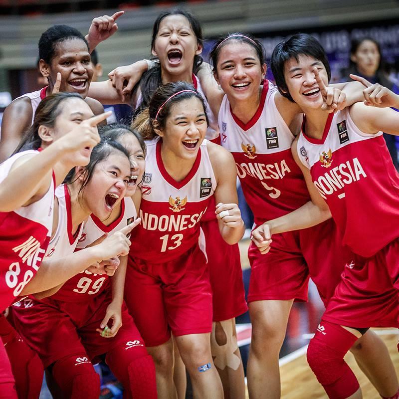 Tim Putri U18 Indonesia Berhasil Menjuarai FIBA ASIA U18 Level II