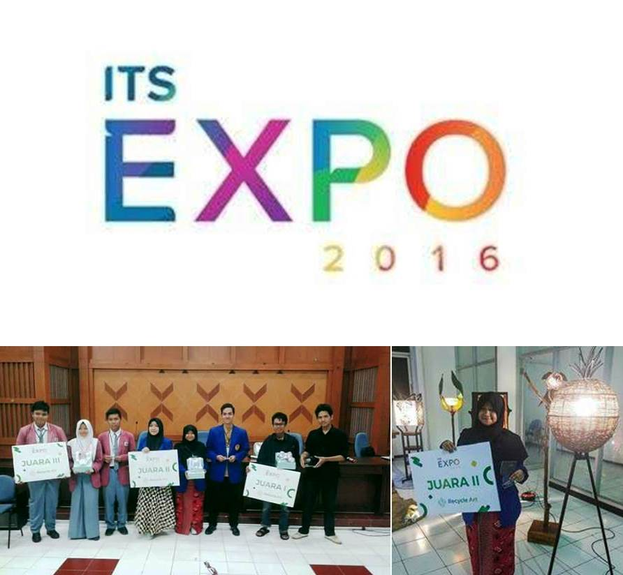 Universitas Esa Unggul Juara 2 Kompetisi Recycle Art Its Expo