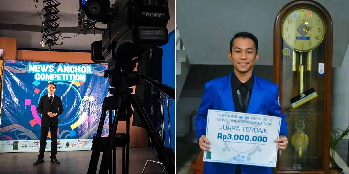Angga Wiranda, Mahasiswa Jurusan Jurnalistik