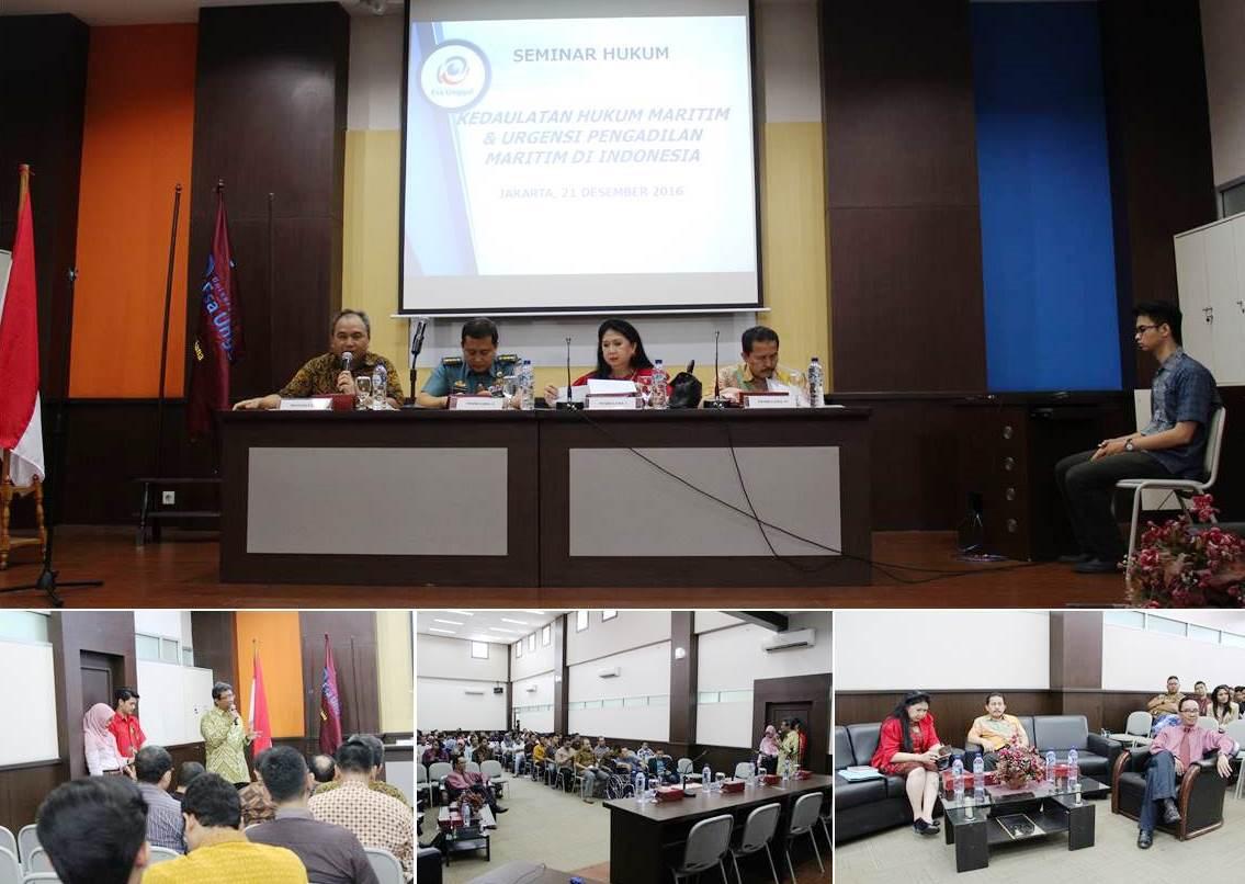 Kedaulatan Hukum Maritim dan Urgensi Pengadilan Maritim di Indonesia, Fakultas Hukum Universitas Esa Unggul