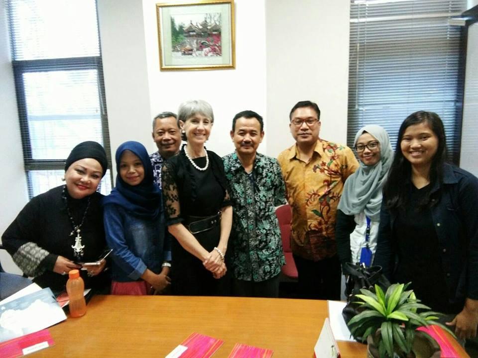 Kedutaan Besar Austalia berkunjung ke Universitas Esa Unggul