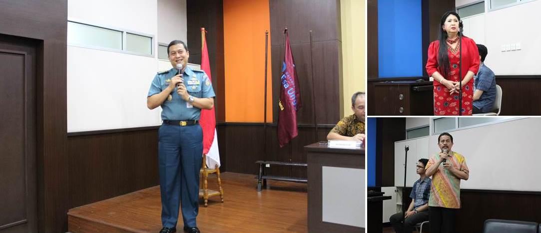 Kolonel Laut (KH) Kresno Buntoro, S.H, L.L.M., Ph.D, Dr. Chandra Motik, S.H, LLM dan Drs. Basuki, S.H, M.H, CLA.