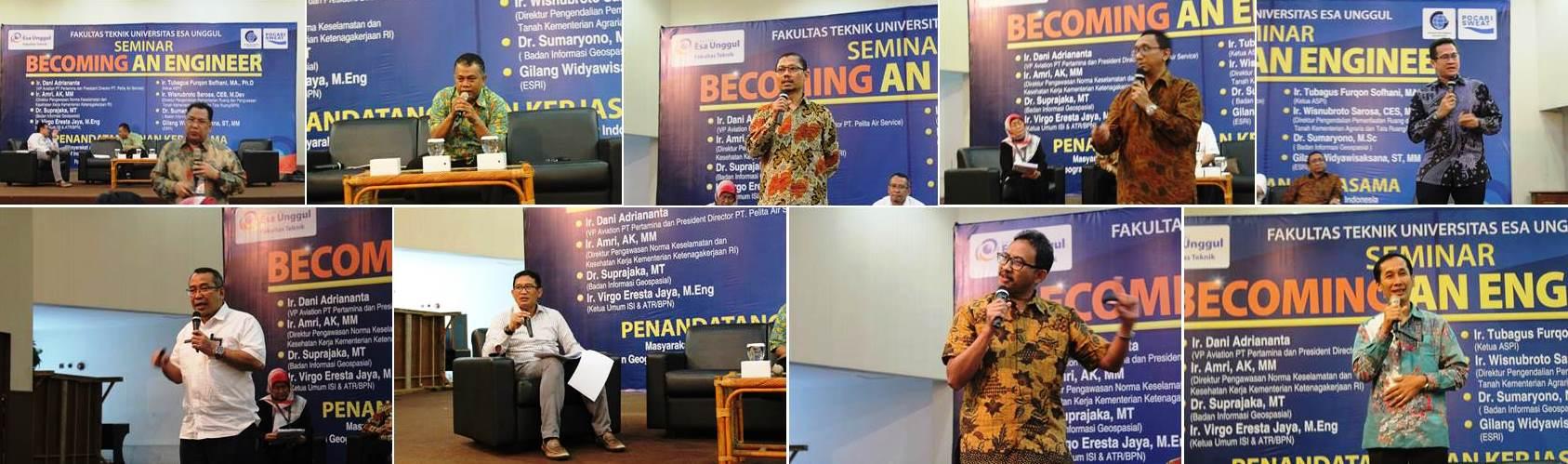 Pembicara di Acara Seminar