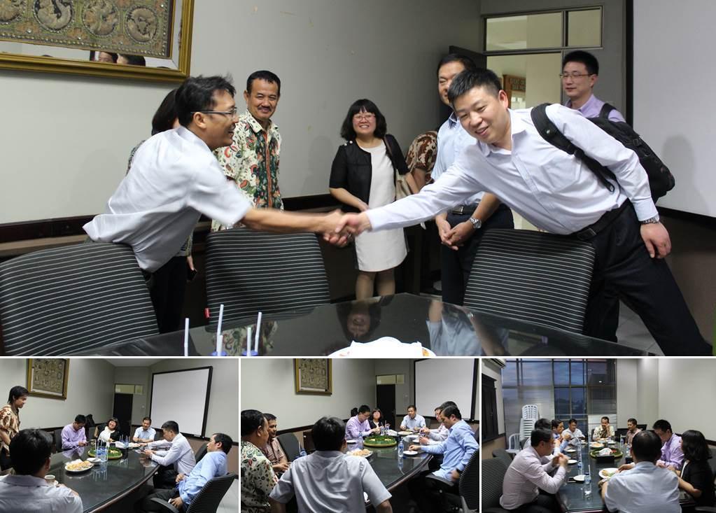 Vice President Nanjing Xiaozhuang University berkunjung ke Universitas Esa Unggul