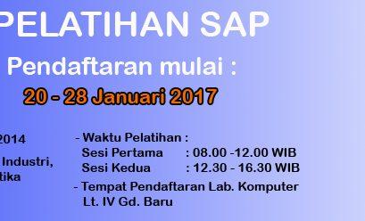 Pelatihan SAP 2017