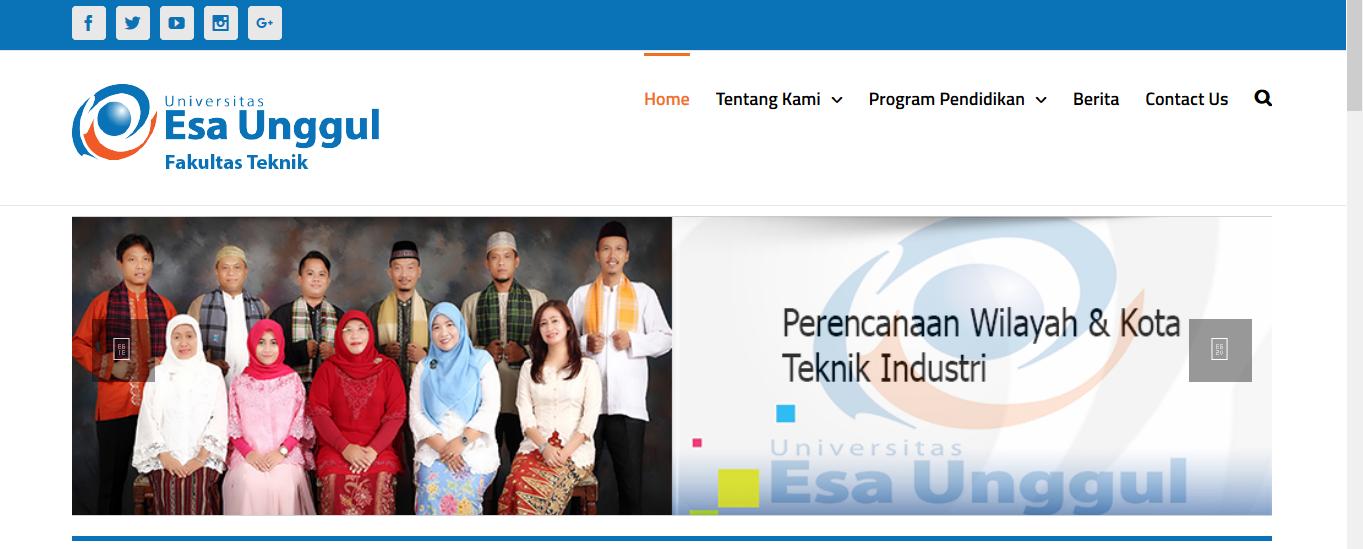 Web Fakultas Teknik