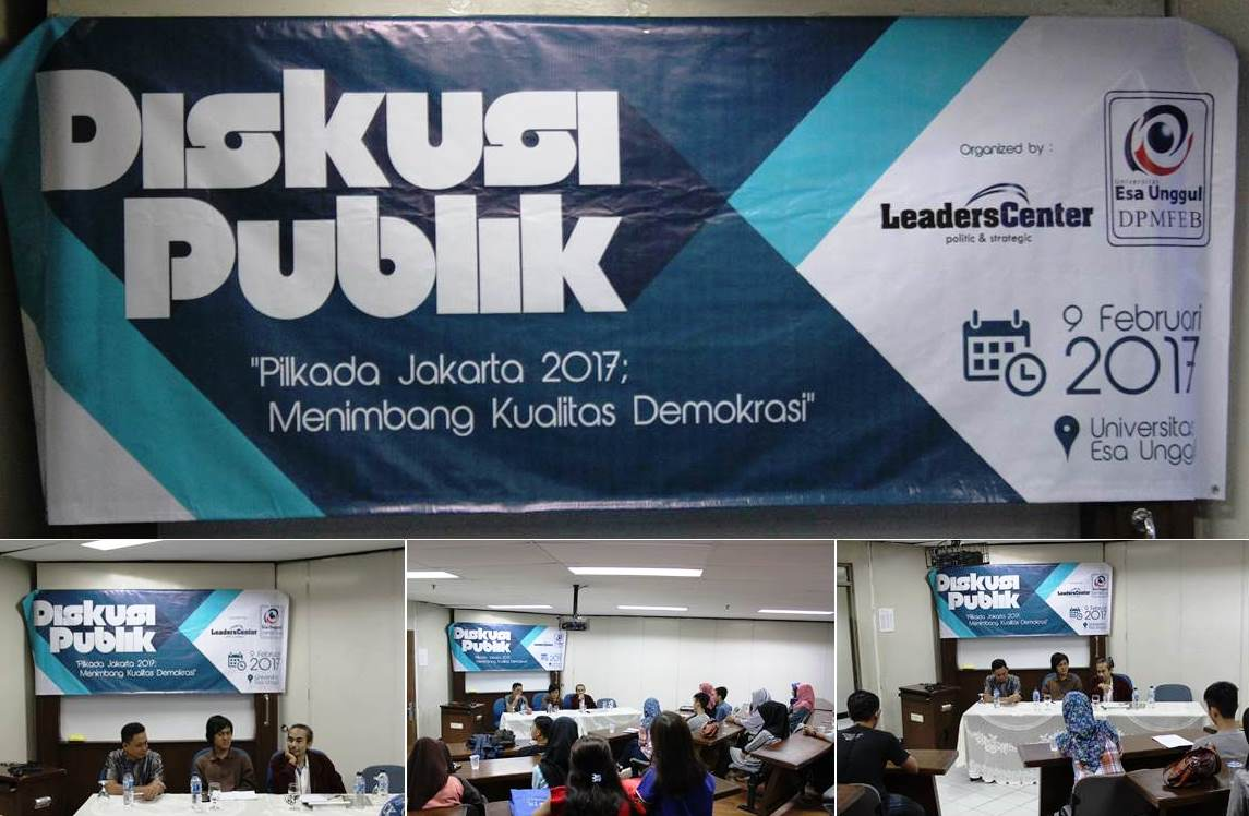 Diskusi Publik Pilkada Jakarta 2017