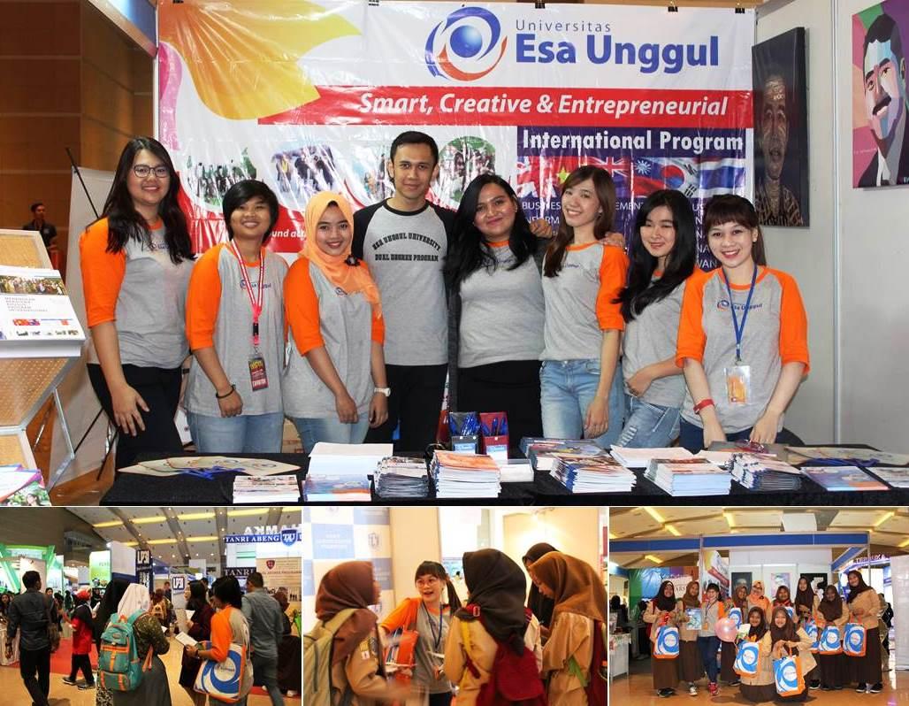 Universitas Esa Unggul Hadir di JIEXPO Kemayoran