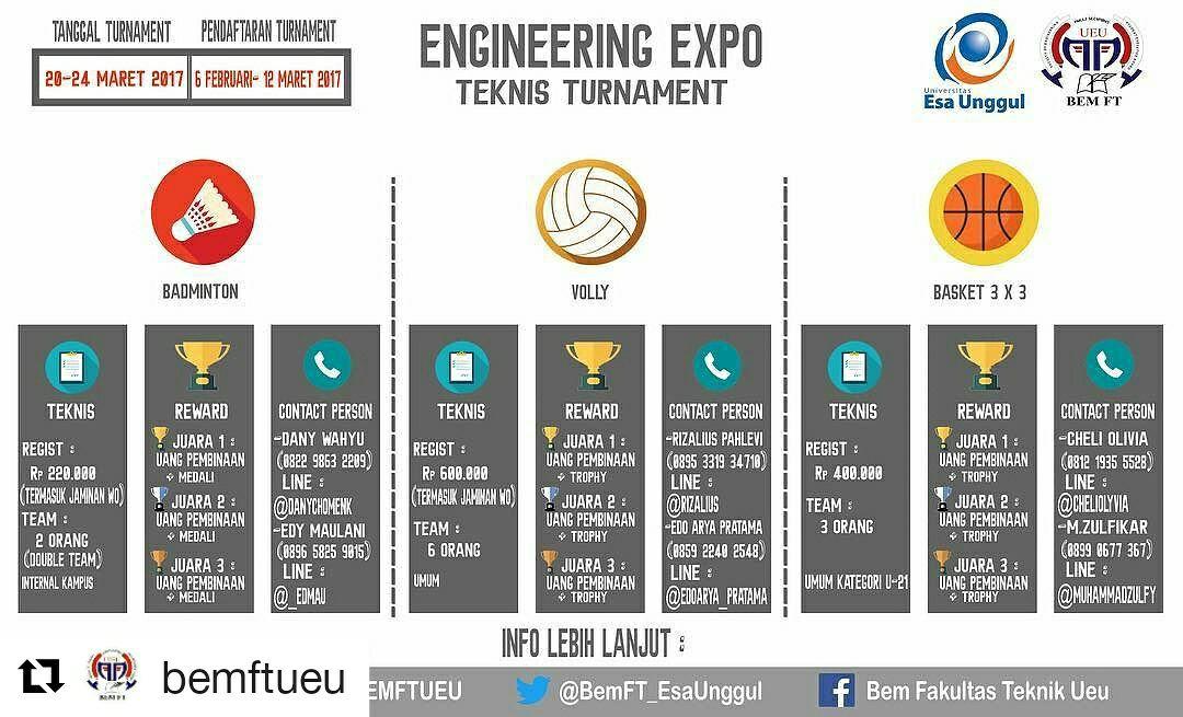 Fakultas Teknik Universitas Esa Unggul  Mempersembahkan Engineering Expo, 2017
