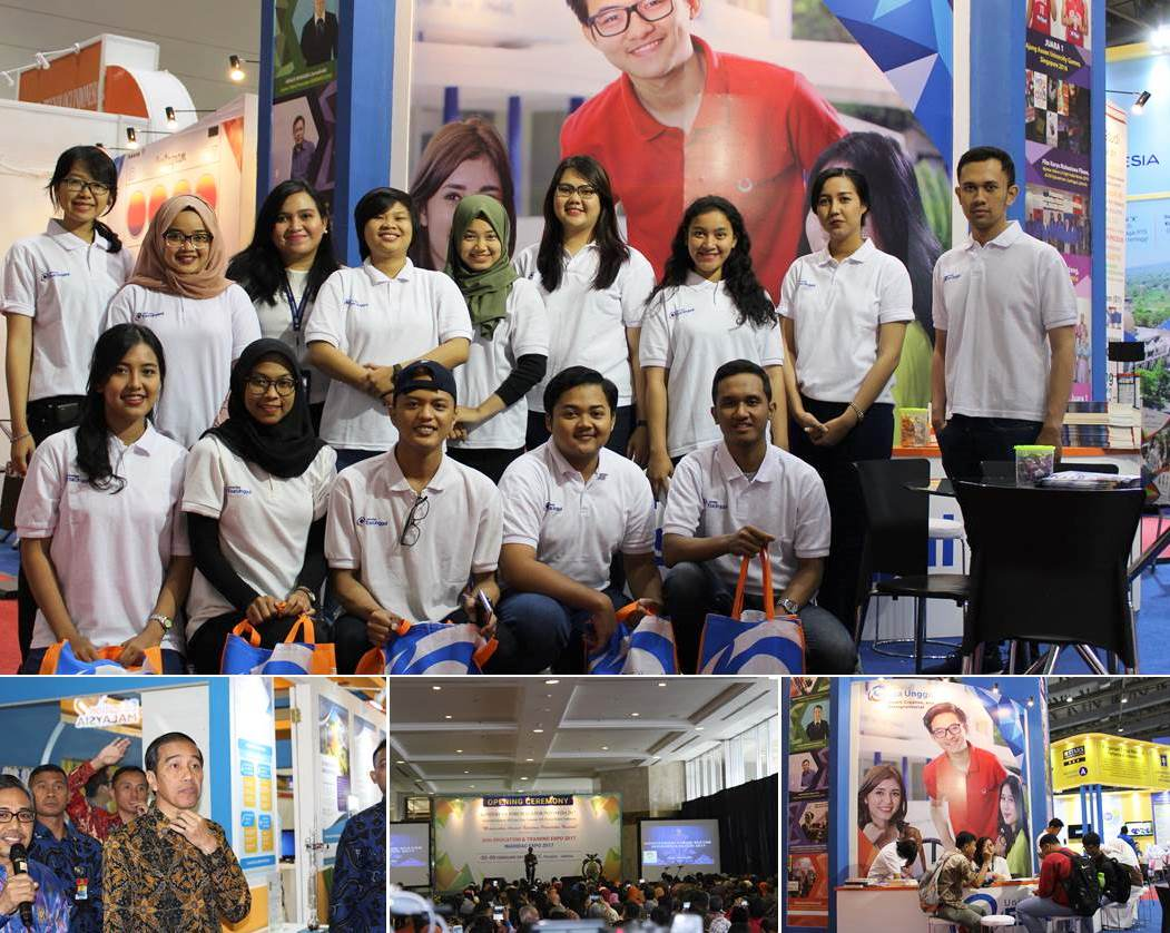 Universitas Esa Unggul Hadir di Education and Training Expo 2017