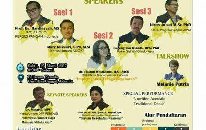 Nutrition and Health National Seminar 2017