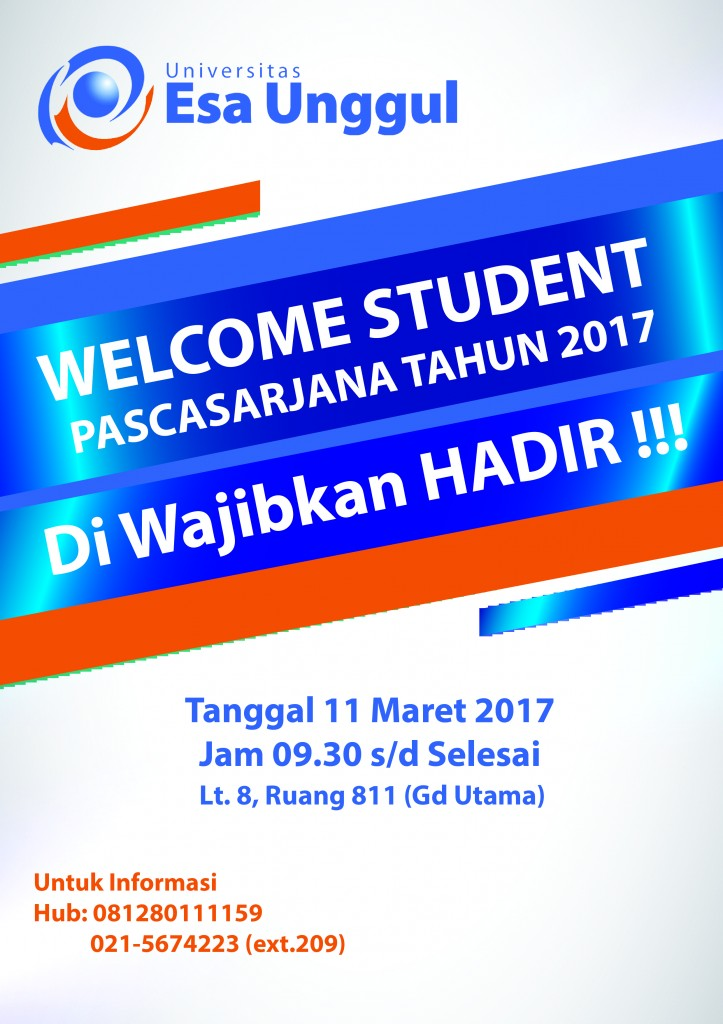 Welcome Student Program Pascasarjana 2017