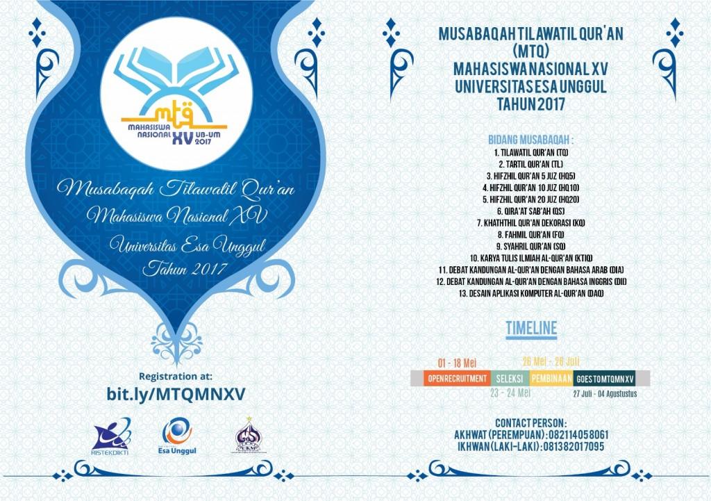 Musabaqoh Tilawatil Qur'an Mahasiswa Nasional