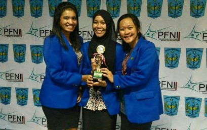 Tim Olimpiade Universitas Esa Unggul Juara II Olimpiade Fisioterapi Neurologi Indonesia