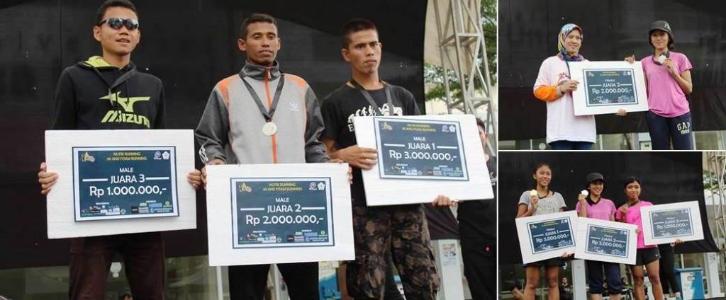 Pemenang Nutrirunning 5K