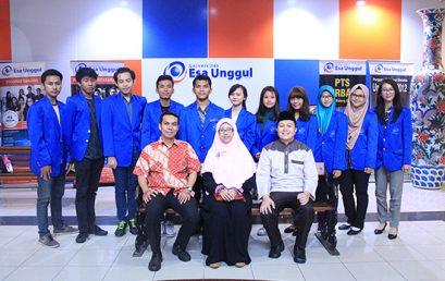 Selamat Kepada Tim Mahasiswa Universitas Esa Unggul Menjadi Pemenang PKM 5 Bidang KEMENRISTEKDIKTI Tahun 2016 PENDANAAN Tahun 2017