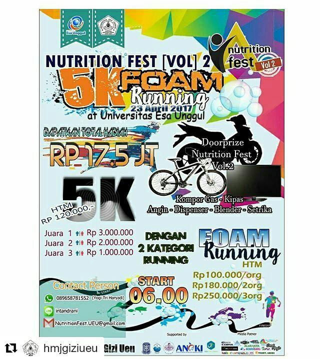 The Final Event of Nutrition Fest Vol. 2 Esa Unggul University