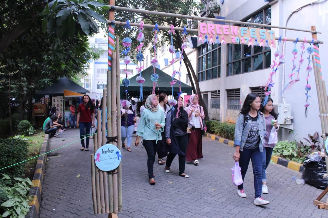 Sadarkan Mahasiswa Bahaya Kanker, BEM FIKES Gelar Green Festival