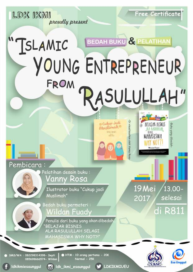 Bedah Buku dan Pelatihan Islamic