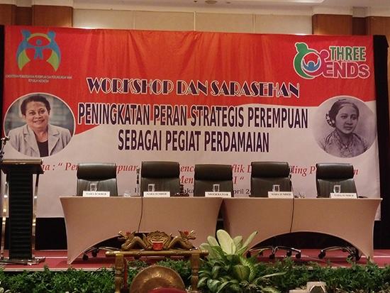 Delegasi Universitas Esa Unggul Mengikuti Kegiatan Sarasehan dan Workshop Hari Kartini