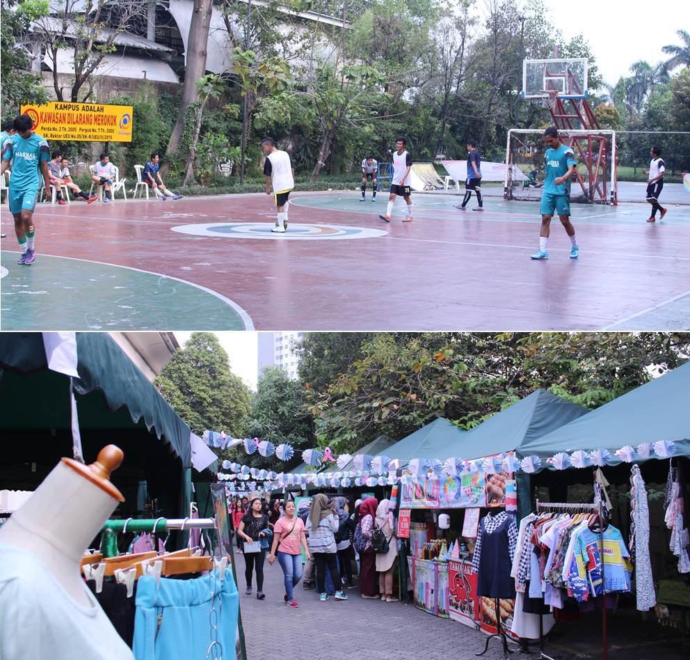 Futsal dan Bazaar Green Fest