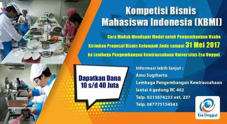 Kompetisi Bisnis Mahasiswa Indonesia (KBMI)