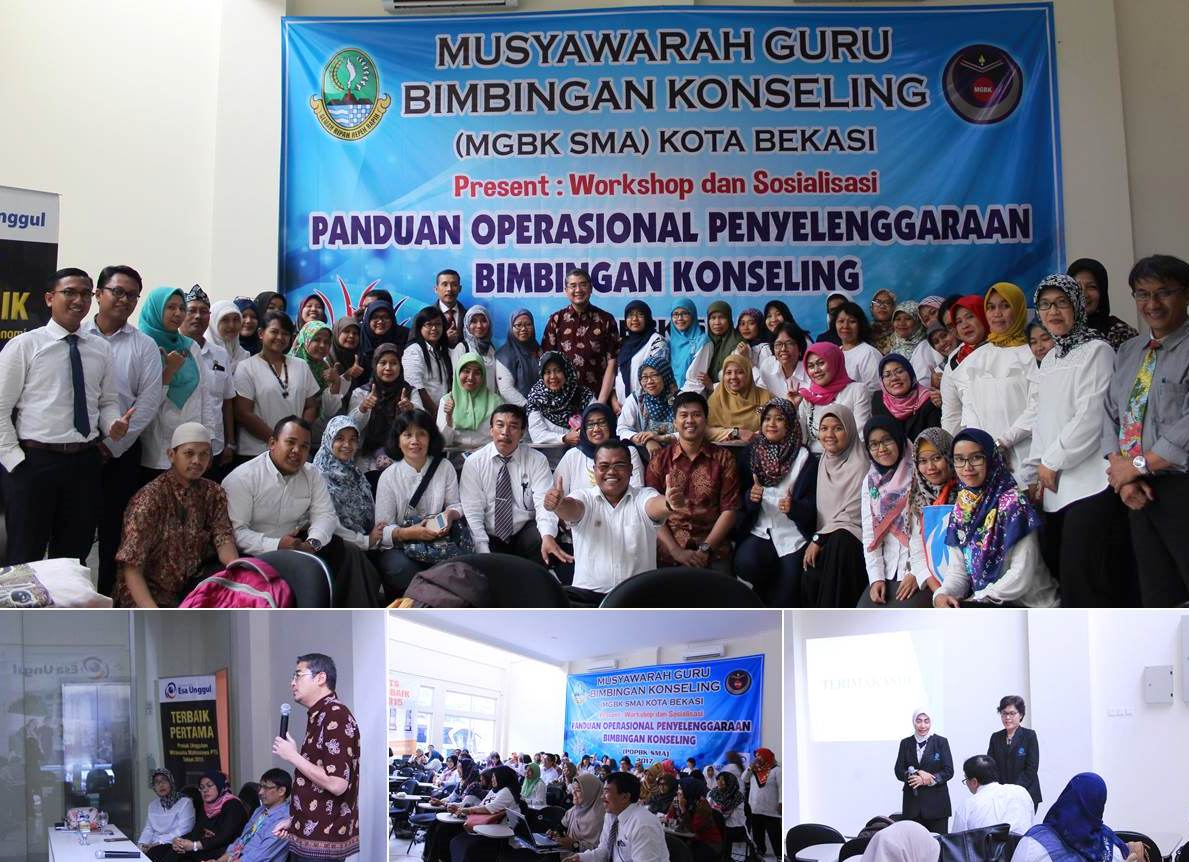 Universitas Esa Unggul adakan MGBK SMA se-Kota Bekasi