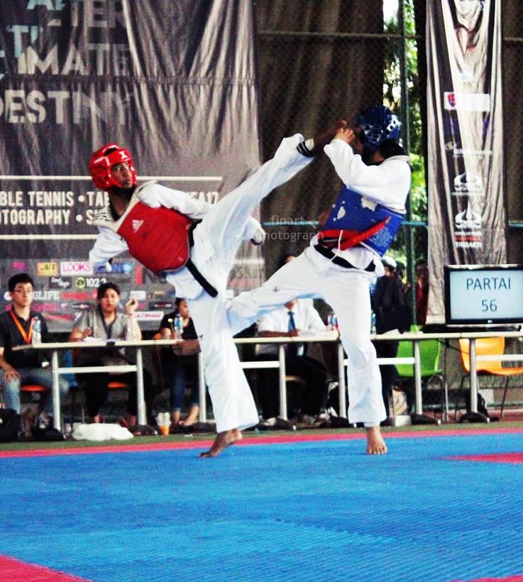 UKM Taekwondo Meraih Juara Umum III