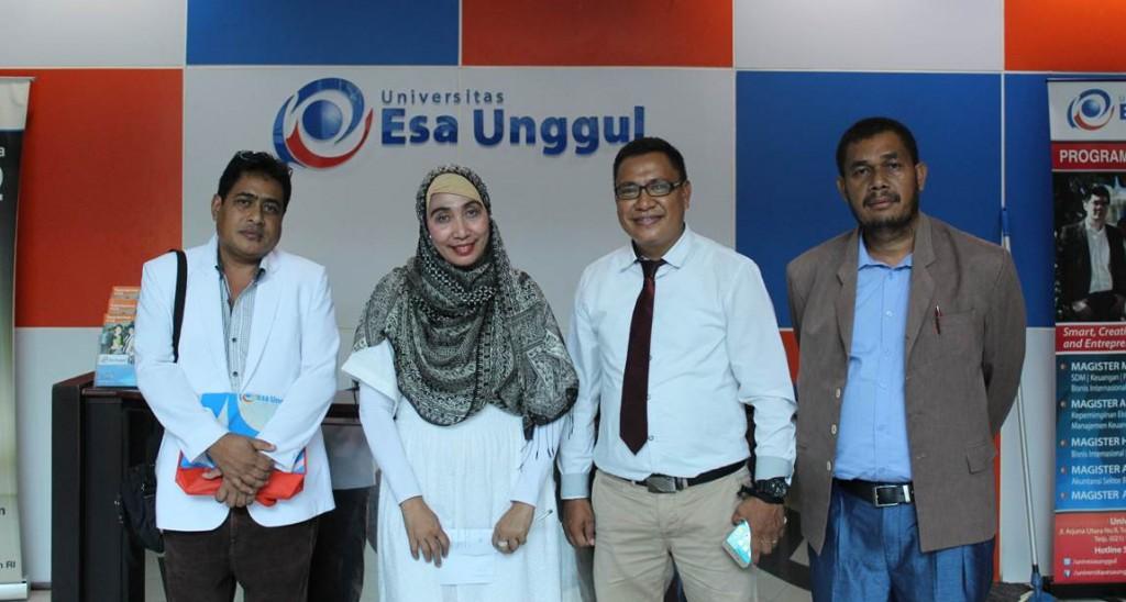Bersama Perwakilan dari Kementerian Kesehatan Timor Leste