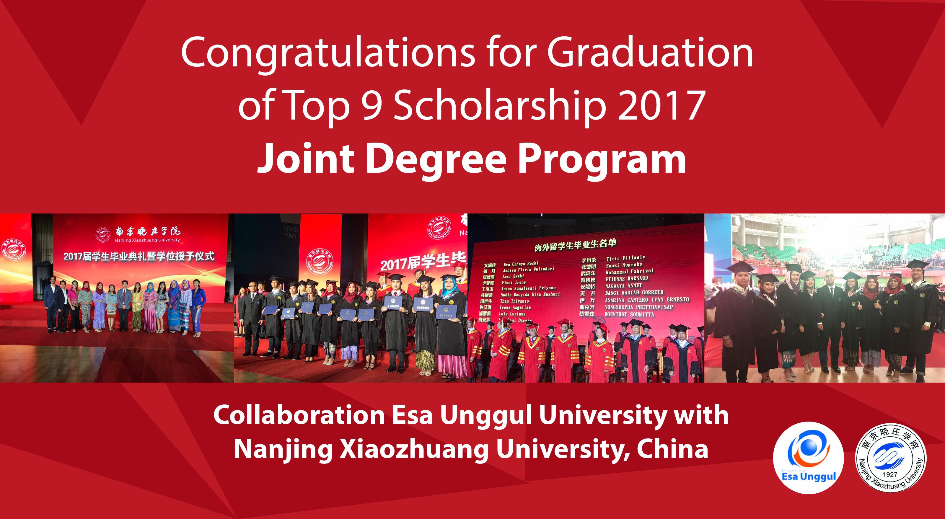 Keren,19 Mahasiswa Esa Unggul Selesaikan Double Degree Di China