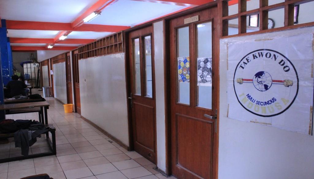 Ruangan Taekwondo, salah satu UKM di Gedung PKM