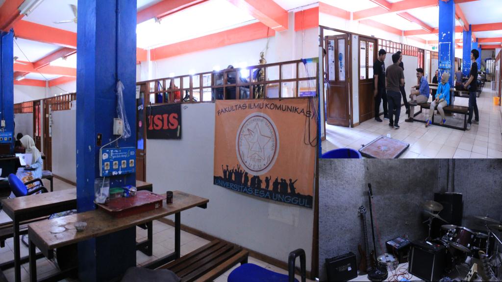 Beberapa Ruangan dan kegiatan di PKM