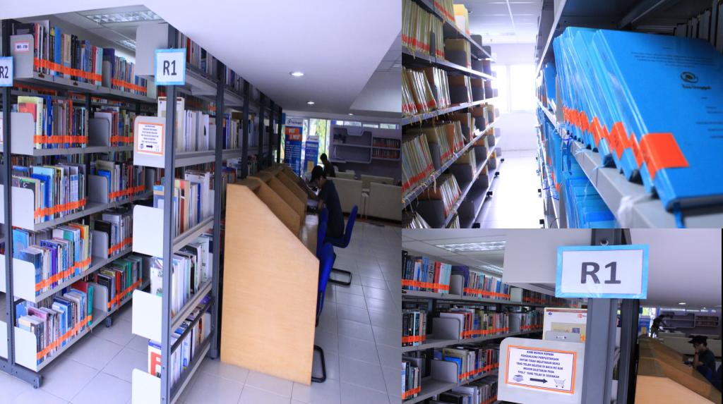 Koleksi buku,Jurnal dan Majalah beserta Skripsi, Tesis dan Disertasi