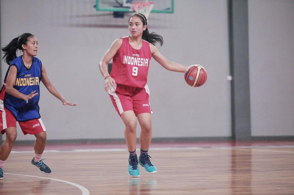 Dewa Ayu Made Sriartha Kusuma Dewi Saat Seleksi Timnas Basket