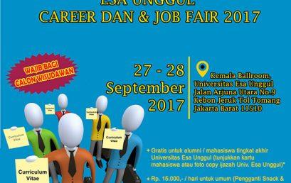 Esa Unggul Career Day dan Job Fair 2017