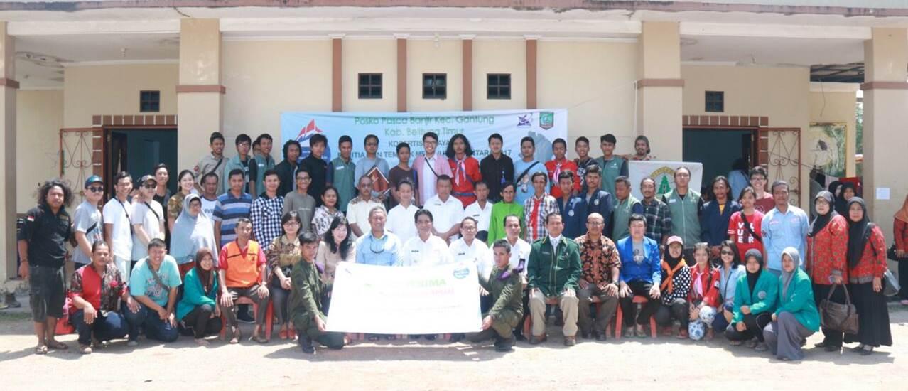 Pelepasan Tim oleh Bupati Belitung Timur Bapak Yuslih Ihza