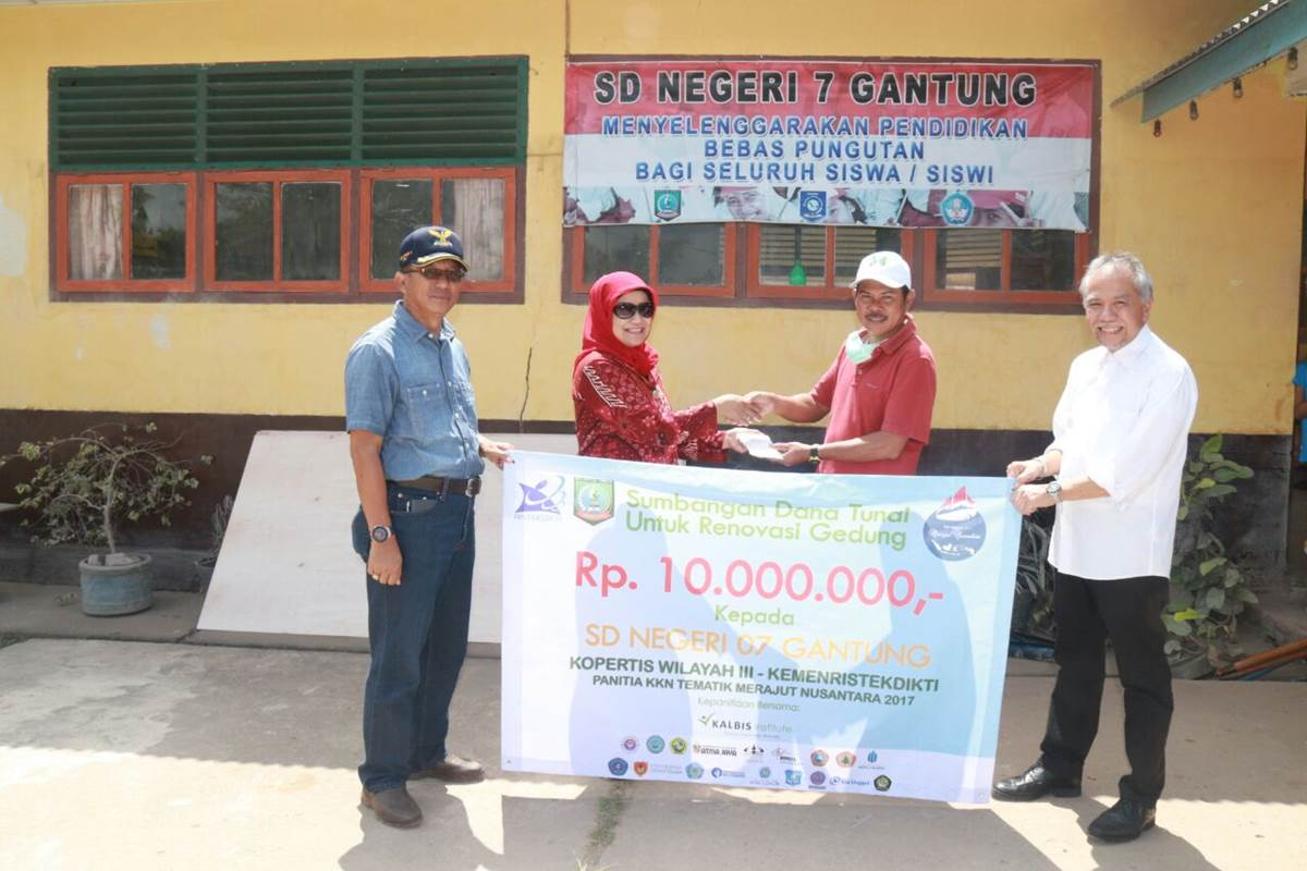 Pemberian Bantuan Langsung Kopertis Wilayah III Jakarta