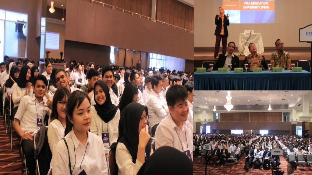 Antusiasme Mahasiswa baru mengikuti Pre University Esa Unggul