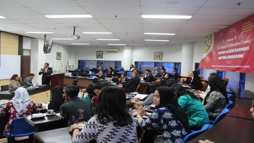 Seminar Internasional oleh Perguruan Tinggi Asal Filipina