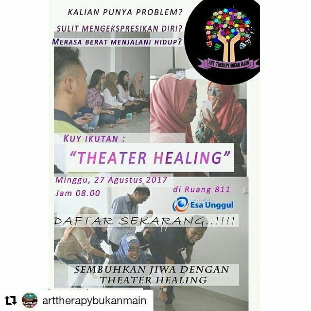 Theater Healing Univeristas Esa Unggul
