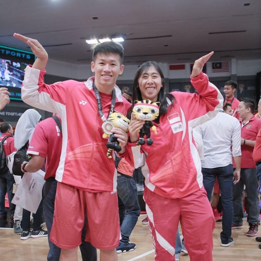 Dua Mahasiswa Esa Unggul yang mengikuti Sea Games di Malaysia