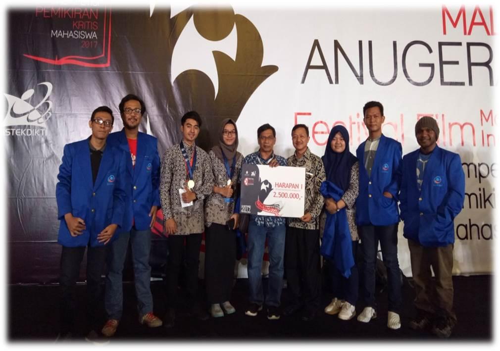 Prestasi Mahasiswa FIKOM dalam Festival Film Mahasiswa Indonesia 2017