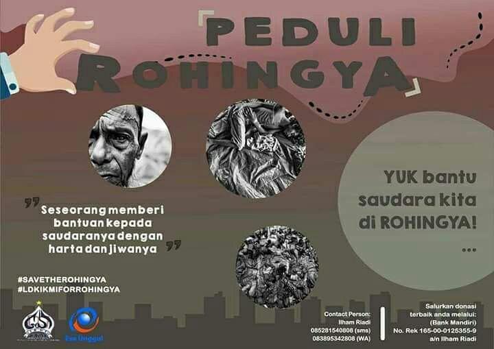 Duka Rohingya, Duka Kita Juga