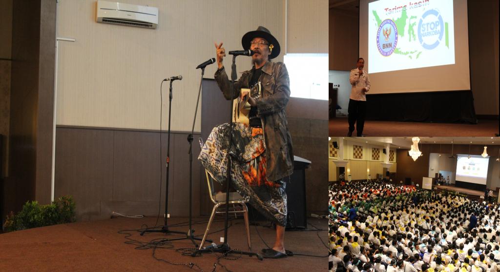 Seminar Esgul yang dimeriahkan oleh pembicara kondang salah satunya Sujiwo Tejo