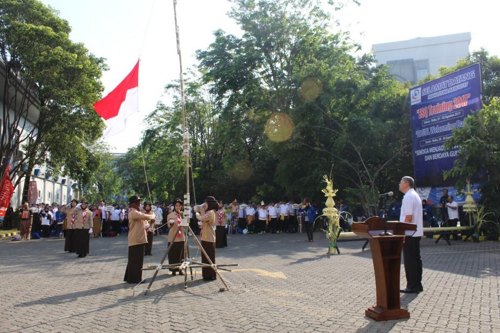 Pembukaan Esgul Welcoming Days Oleh Rektor Esa Unggul Arief Kusuma Among Praja